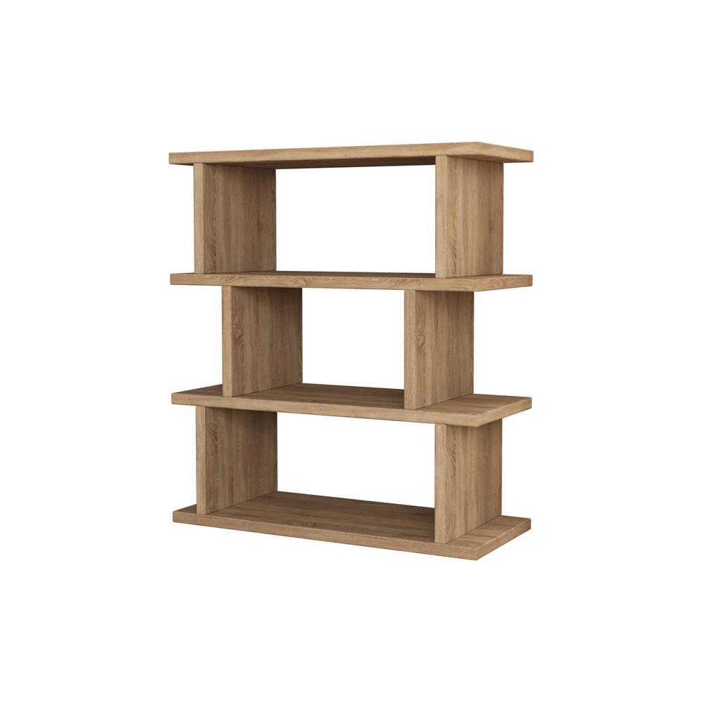 Ada Home Decor Stockton Oak Modern Side Table DCRS2044