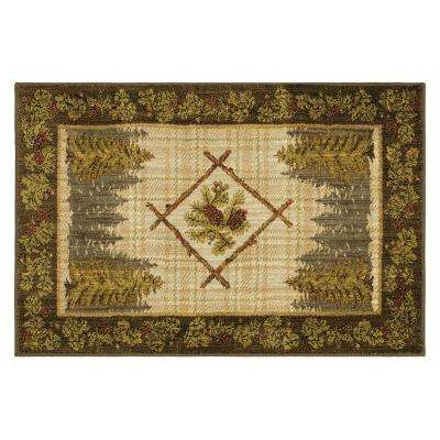 Aegean Olympic Tobacco 2 ft. 6 in. x 3 ft. 9 in. Accent Rug