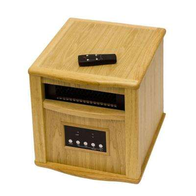 1,500 Watt Oak Electric Patio Heater