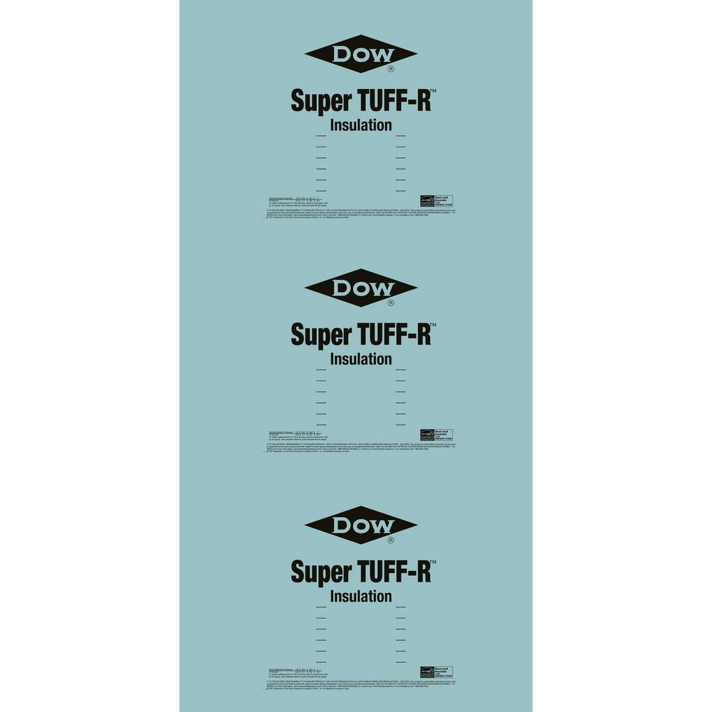 Super TUFF-R 2 in. x 4 ft. x 8 ft. R-13 Foam Insulation