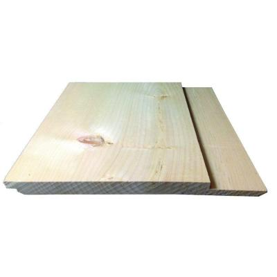 1 in. x 12 in. x 12 ft. RGH Standard Eastern White Pine Head Chink Siding Board (1-Piece)