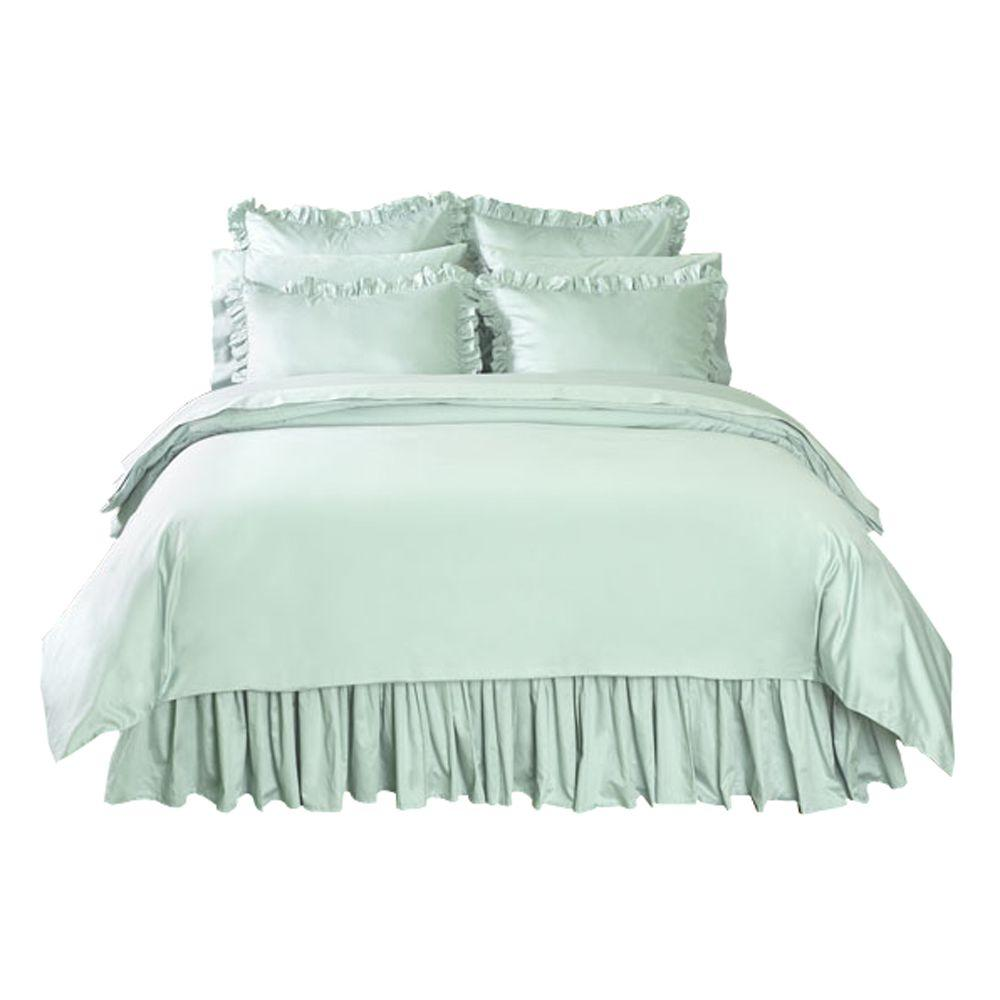 Home Decorators Collection Solid Watery Twin Duvet