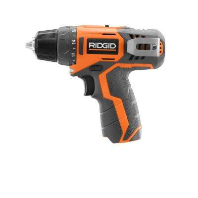 12-Volt Lithium-Ion 3/8 in. Cordless Drill (Tool Only)