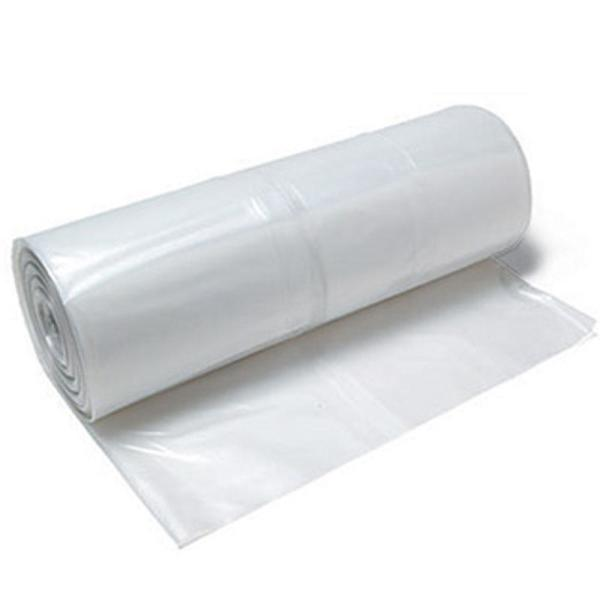 10 ft. x 100 ft. Plastic Sheeting 4 mil Fire Retardant Clear