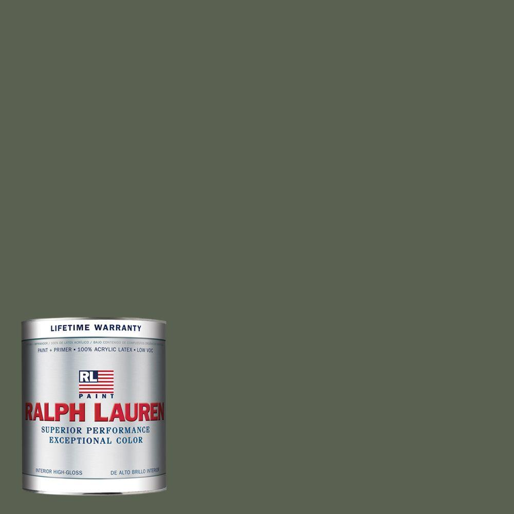 Ralph Lauren 1-qt. Chauffeurs' Green Hi-Gloss Interior Paint