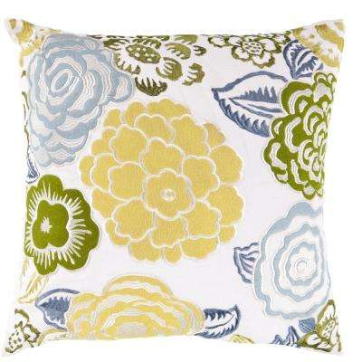 Dianthus Poly Euro Pillow