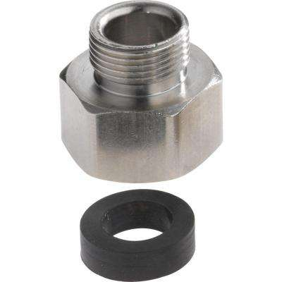 Fitting Size 3/8 in. - 1/2 in. Metal Slip Joint Adapters