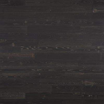 1/8 in. x 3 in. x 12-42 in. Peel and Stick Black Wooden Decorative Wall Paneling (10 sq. ft./Box)