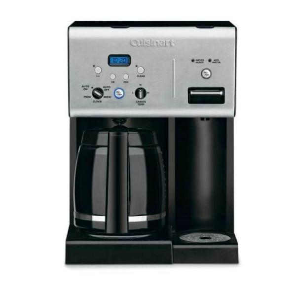 12-Cup Black Drip Coffee Maker with Automatic Shut-Off