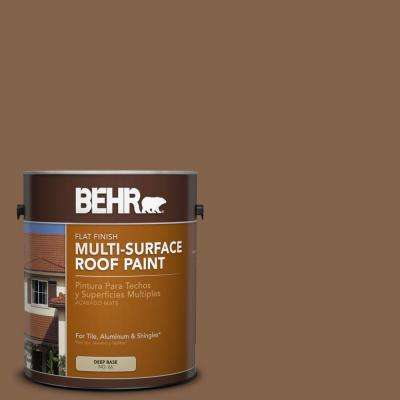 1 gal. #RP-19 Aspen Gold Flat Multi-Surface Roof Paint