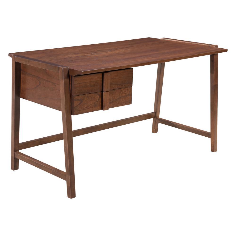 ZUO Graham Walnut Desk