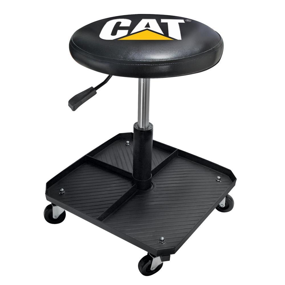 Miraculous Plasticolor Cat Adjustable Pneumatic Shop Creeper Seat With Stool Ibusinesslaw Wood Chair Design Ideas Ibusinesslaworg