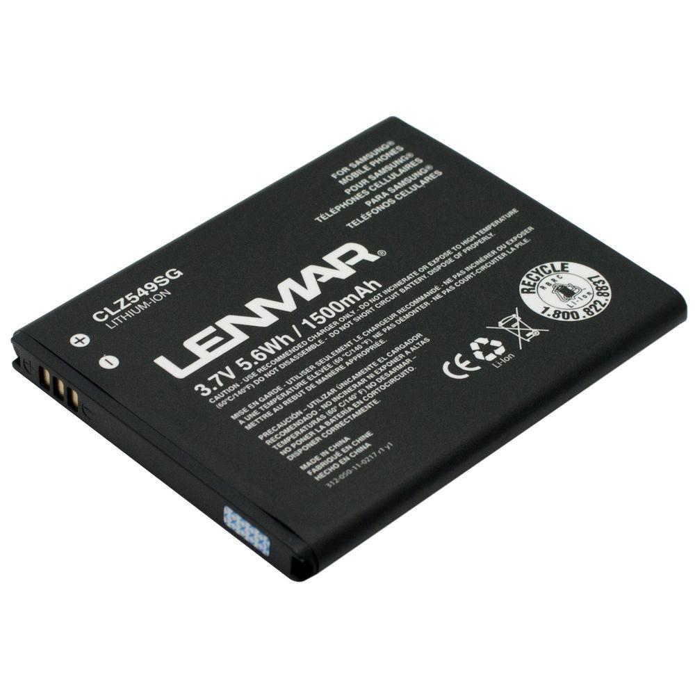 Lenmar Lithium Ion 1500mAh/3.7-Volt Mobile Phone Replacement Battery