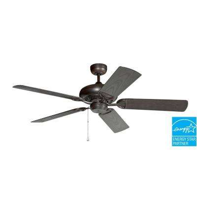 ProSeries Deluxe Builder 52 in. Oil Rubbed Bronze Outdoor Ceiling Fan