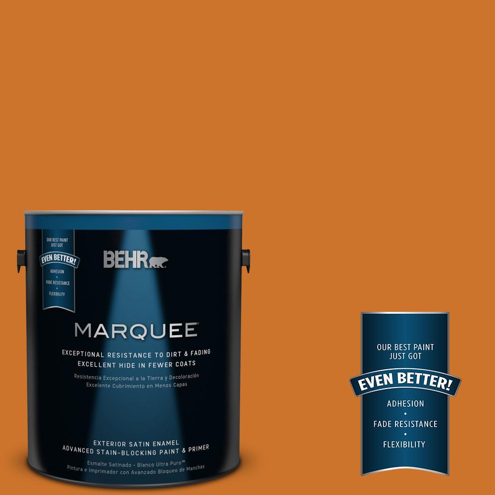 BEHR MARQUEE 1-gal. #S-H-270 October Satin Enamel Exterior Paint