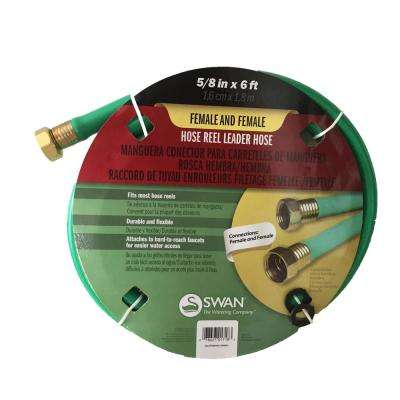 5/8 in. Dia x 6 ft. Leader Hose with Female Coupling