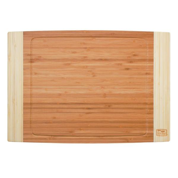 Chicago Cutlery Woodworks Bamboo 14 in. x 20 in. Cutting Board