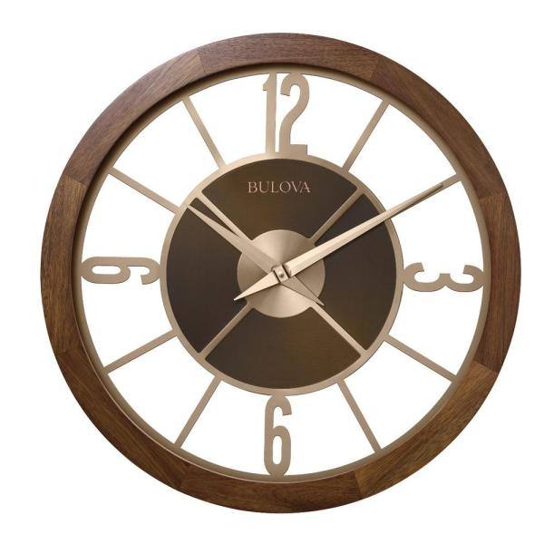 Indoor/Outdoor 26 in. Gallery Clock with Bluetooth stereo