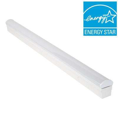 3 ft. Bright/Cool White LED  Direct Wire Powered Strip Ceiling Light Fixture