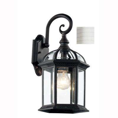 Wentworth 1-Light White Outdoor Wall Mount Lantern