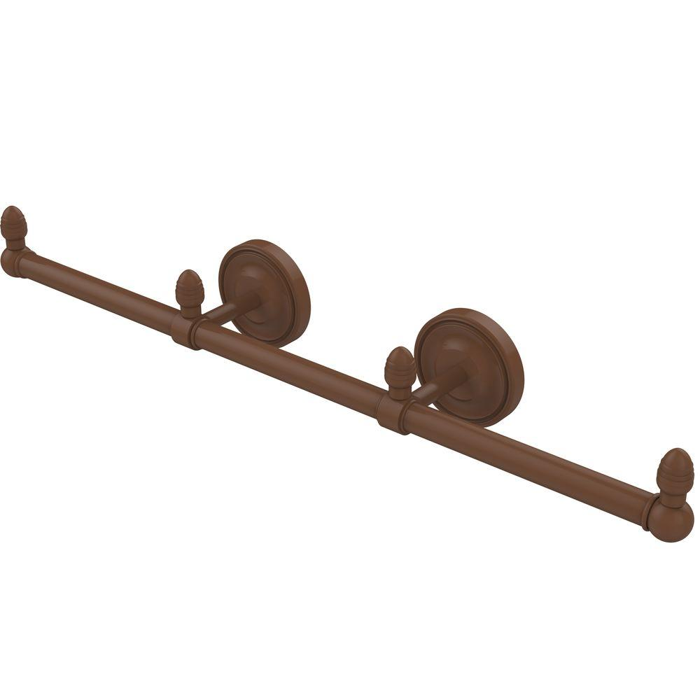 Prestige Regal Collection 3-Arm Guest Towel Holder in Antique Bronze