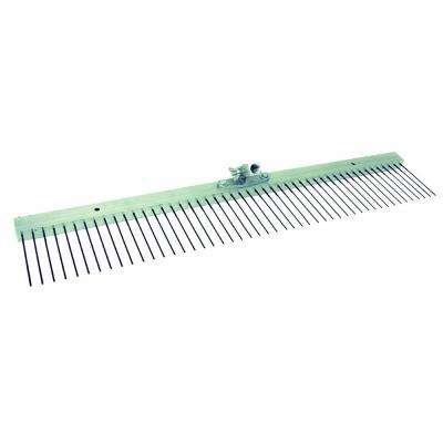 24 in. Concrete Flat Wire Broom-Aluminum Block