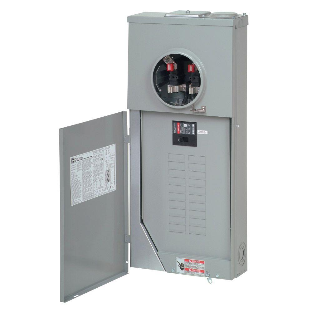 Eaton 200 Amp 20 Space 40 Circuit Br Type Main Breaker Meter Breaker Mb2040b200bts The Home Depot