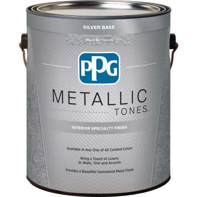1 gal. Silver Metallic Interior Specialty Finish
