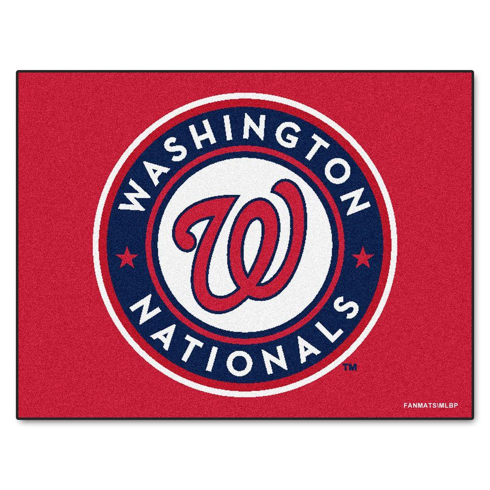 MLB Washington Nationals Red 2 ft. 10 in. x 3 ft.