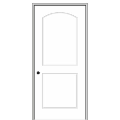 16 in. x 80 in. Smooth Caiman Right-Hand Solid Core Primed Molded Composite Single Prehung Interior Door