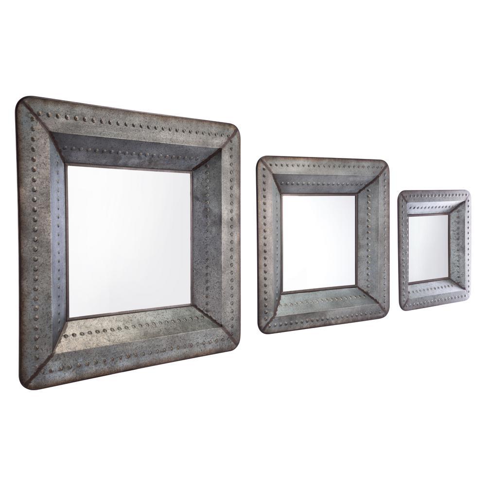 Antique Wall Mirror Set
