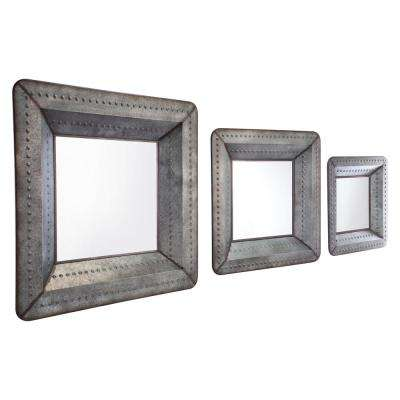 Antique Wall Mirror Set