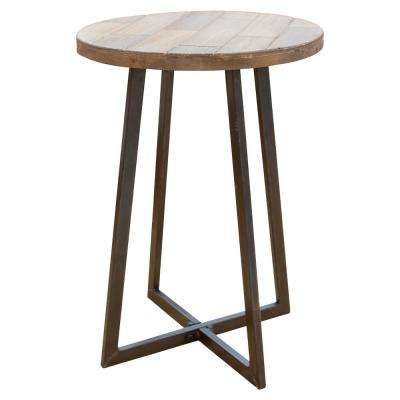 Miles Rustic Wood Table