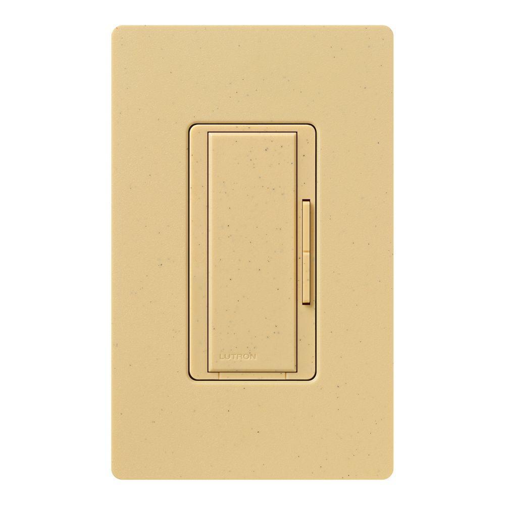 Lutron Maestro 600-Watt Multi-Location Accessory Dimmer - Goldstone