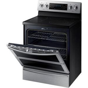 Samsung 30 in. 5.9 cu. ft. Flex Duo Double Oven Electric Range with on electric range clock, electric range installation, electric range regulator, electric range switch, electric stove schematic, kenmore elite parts diagram, electric range plug, stove diagram, electric range electrical, electric range controls, electric range schematic, electric slide in range, electric trailer brake wiring diagrams, ge range electrical diagram, electric range parts, ge gas range parts diagram, electric range controller diagram, electric range wire, electric range repair, electric range manual,