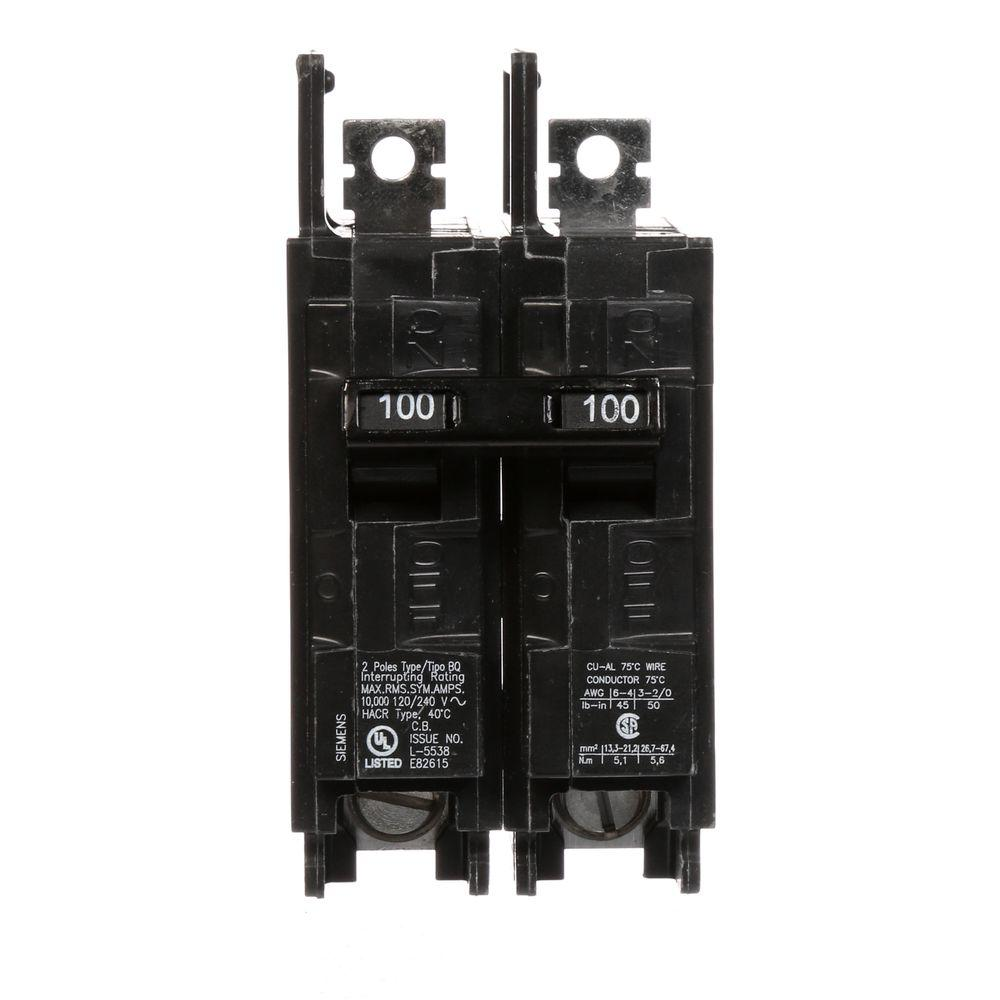 Siemens PL Series 100-Amp 24-Space 24-Circuit Main Breaker Indoor ...