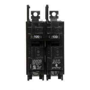Siemens 100 Amp Double-Pole Type BQ 10 kA Lug-In/Lug-Out Circuit Breaker by Siemens