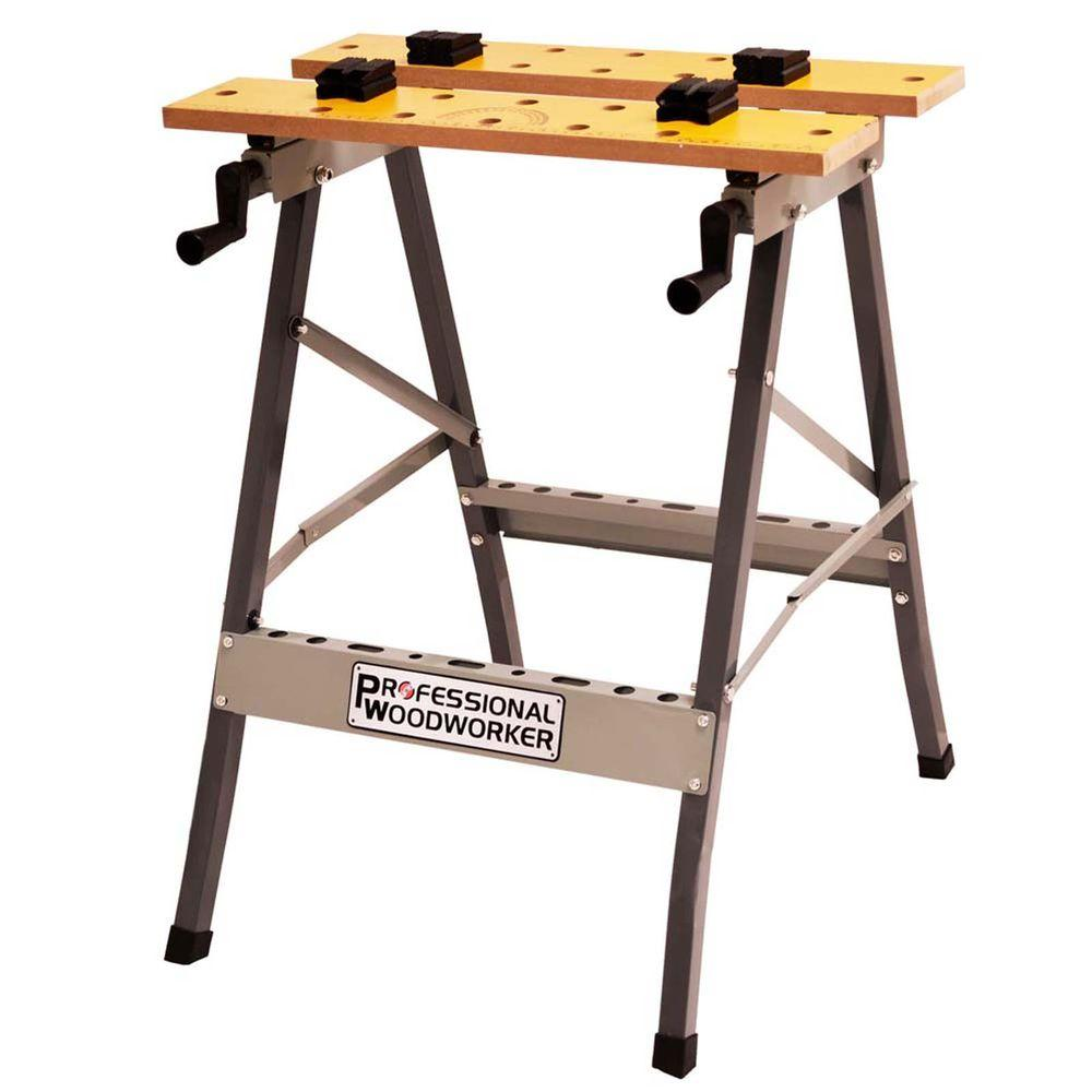 Folding Work Table Home Depot.Professional Woodworker Foldable Workbench