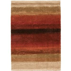 Orian Rugs Layers Lava 1 ft. 7 inch x 2 ft. 9 inch Accent Rug by Orian Rugs