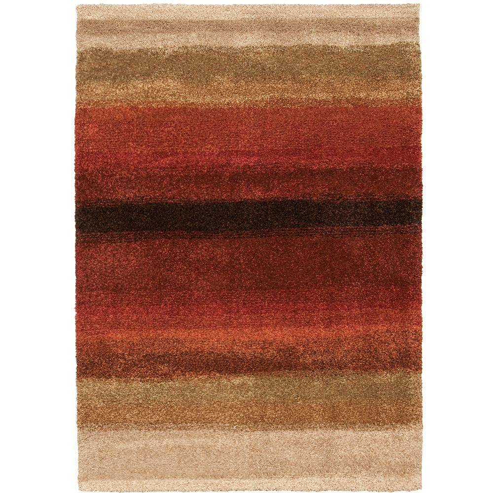 Orian Rugs Layers Lava 7 Ft X 10 Ft Area Rug 238389 The Home Depot