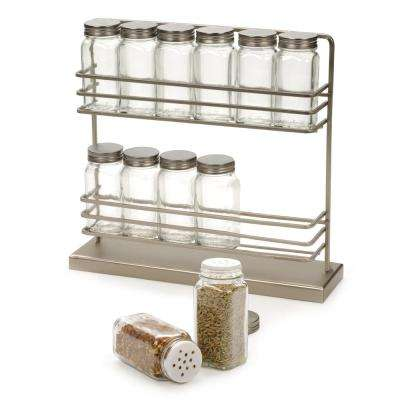 2-Tier Counter Spice Rack Set