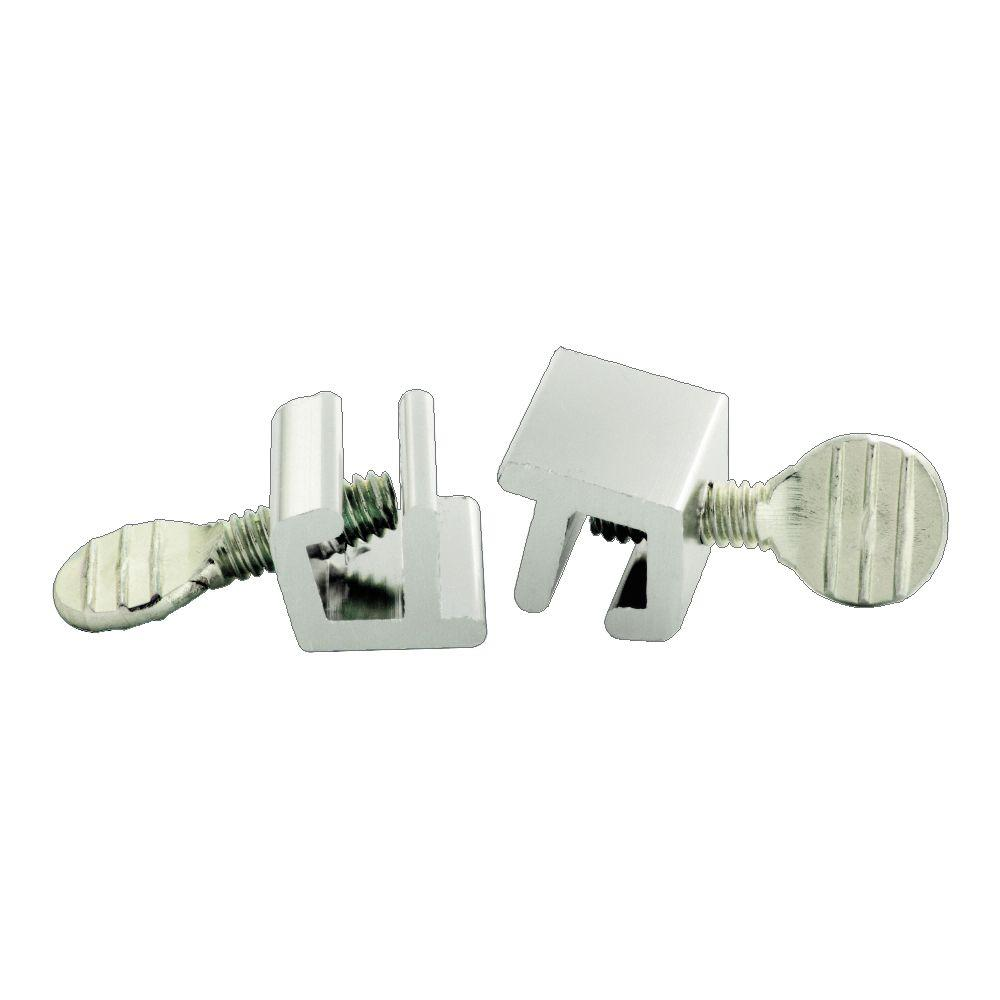 First Watch Security Aluminum Window Slide Stop (2-Pack)