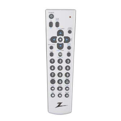 2-Device TV, DVD and VCR Scan Remote Control - Silver