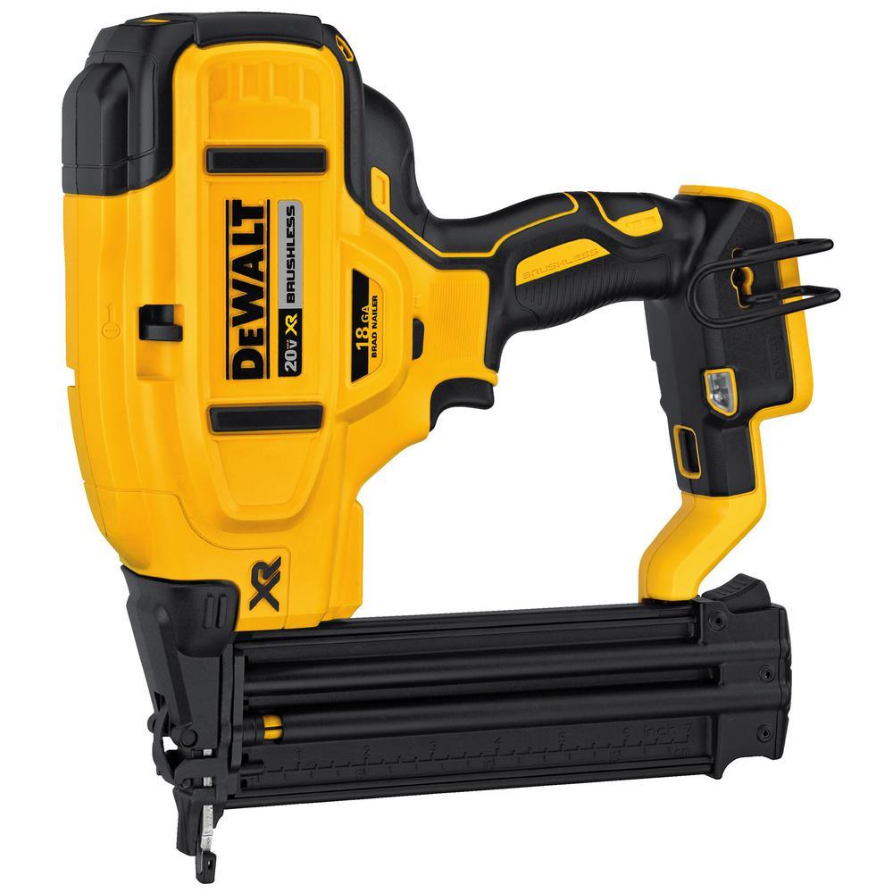 Tool Only DEWALT DCN680B 20V MAX XR 18 Gauge Brad Nailer