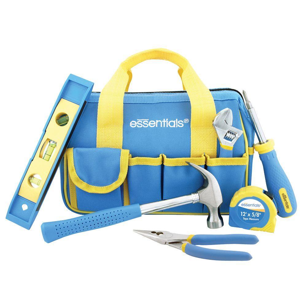 Great Neck Saw Essentials Home Tool Set (11-Piece)