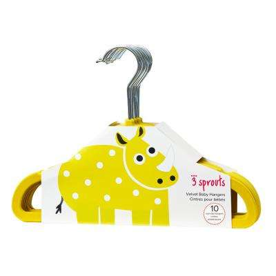 Yellow Rhino Hangers (pack of 10)