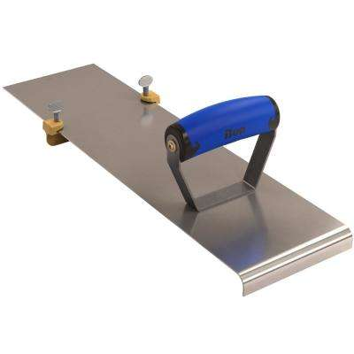 18 in. x 4-7/8 in. Adjustable Edger with 3/4 in. x 3/4 in. Bit 1/2 in. Radius and Comfort Wave Handle