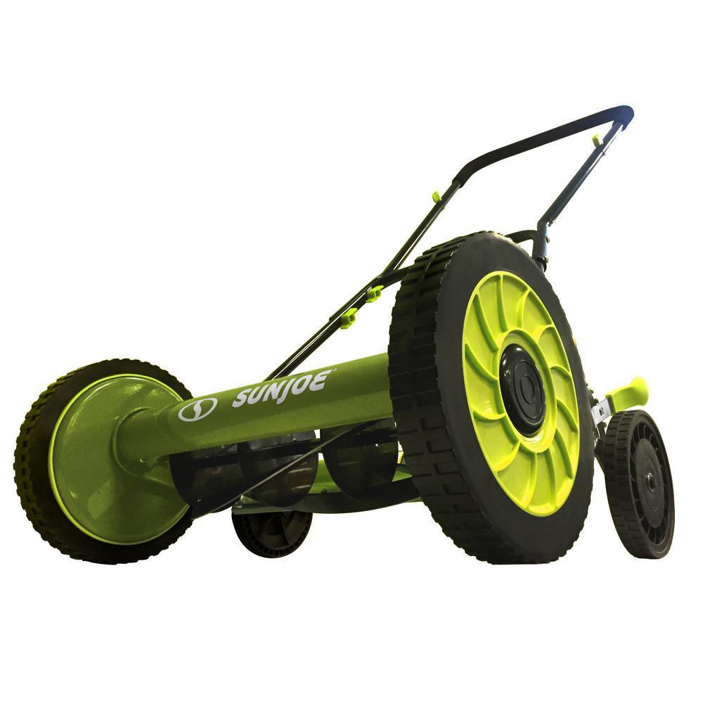 16 in. Manual Walk-Behind Reel Lawn Mower