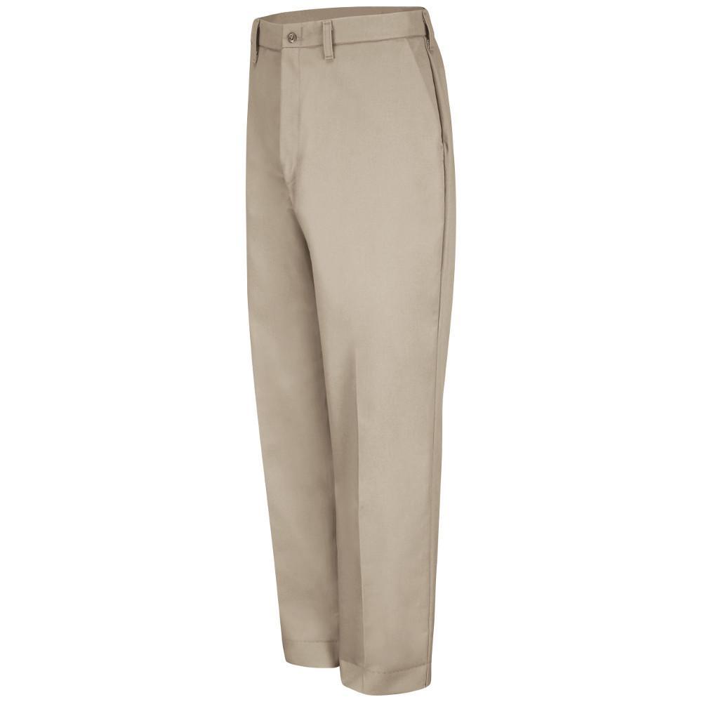 Men's Size 52 in. x 34 in. Tan Work Pant