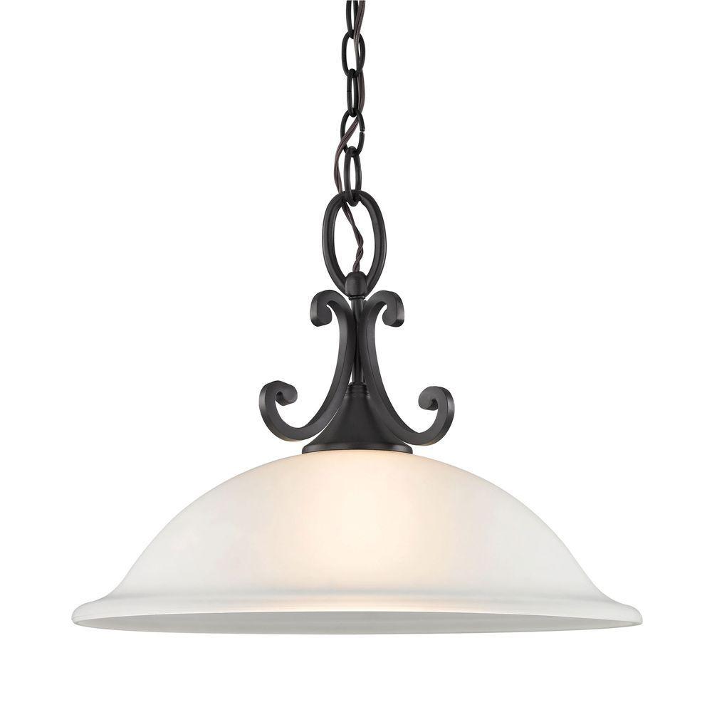 Hamilton 1-Light Oil-Rubbed Bronze Pendant